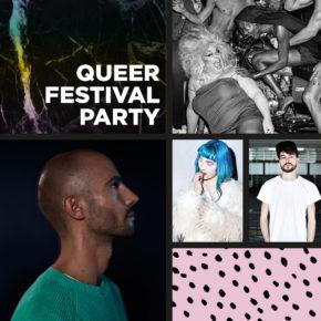 Queer Festival Abschlussparty Sa 27.05.17 | 22.00 Uhr | Karlstorbahnhof