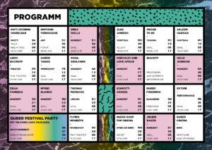 Queer Festival Heidelberg Programm